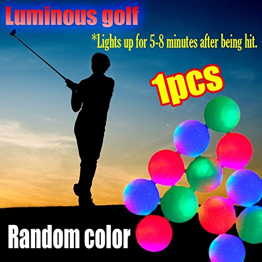 Fanclande Bolas De Golf con Luz LED, Bola Luminosa Golf Bola ...