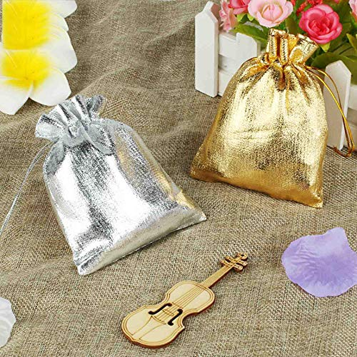 Amazon.com: Xiaogongju - 50 bolsas de organza para boda ...
