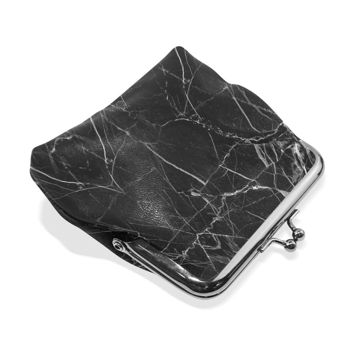 Marble Black Rock Mini Coin Purse Clutch Bag Cute Coin Purse Retro Bag Minimalist Coin Purse Men//Women Super Fashion Coin Purse