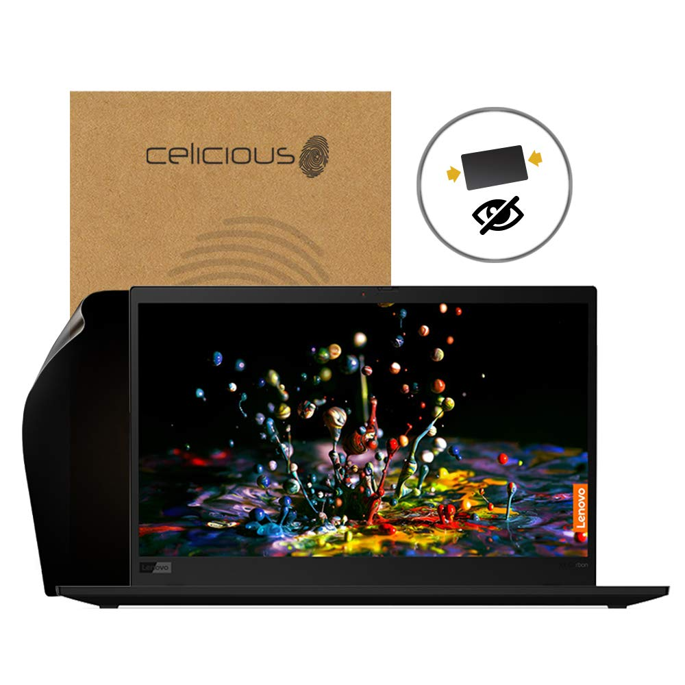 Celicious Privacy 2-Way Anti-Spy Filter Screen Protector Film Compatible with Lenovo ThinkPad X1 Carbon 7th Gen (with IR)