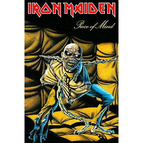 Iron Maiden Poster Flag