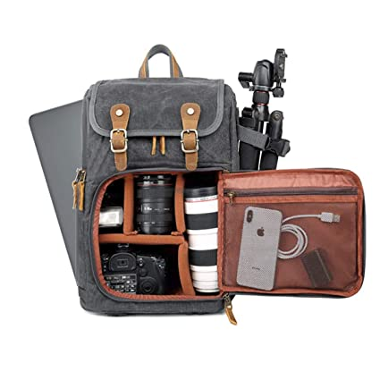 Consumer Electronics Accessories & Parts Batik Canvas Waterproof Photography Bag Outdoor Wear-resistant Large Photo Camera Backpack Men For Fujifilm Nikon Canon Sony Convenience Goods
