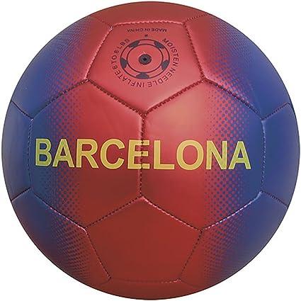 Junatoys Barcelona Balón fútbol, Hombre, Azul/Granate, Talla Única ...
