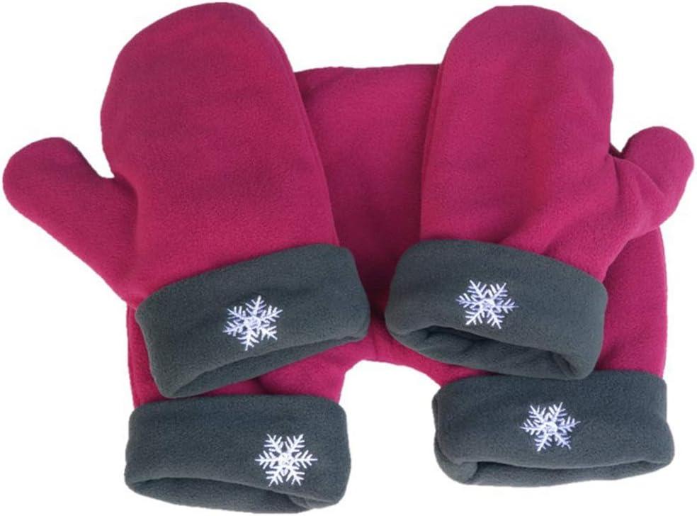 Winter Handschuhe Herren Damen Frauen Ist Verliebte Paare Schneeflocke Winter Handschuhe Partnerhandschuhe aus Doppelfleece Valentinstag Paar Handschuhe Geschenkidee f/ür Paare