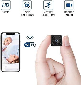 Cute HD 1080P Mini Spy Camera Hidden Camcorder IP Cam Night Vision DVR Wifi
