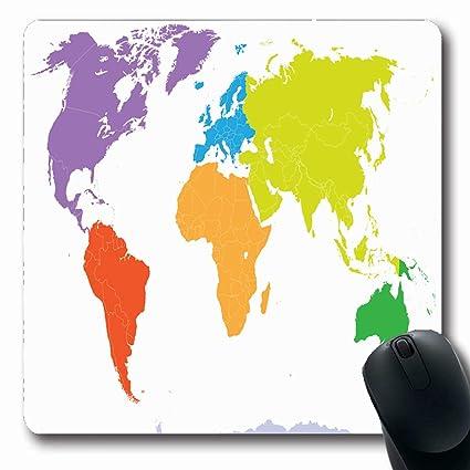 Amazon.com : Ahawoso Mousepads for Computers Eurasian Canada World ...