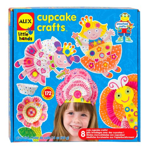 ALEX Toys Little Hands Cupcake - Alex Hands Little Toys