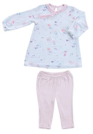 c96751977 Amazon.com: Angel Dear Infant 2 Piece Dress Set Outfit, Little Girls ...