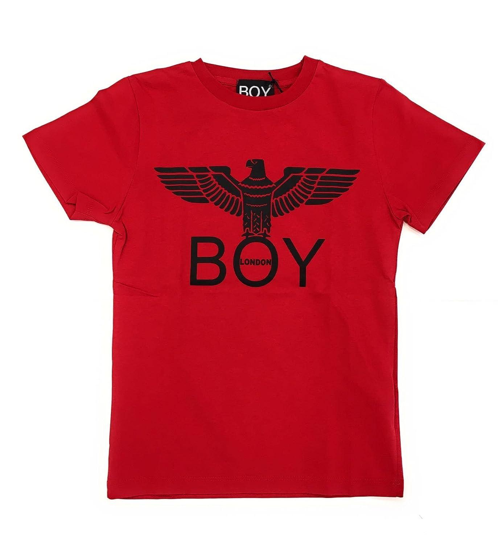 Boy London Bambina TSBL183200J Rosso T-Shirt Inverno