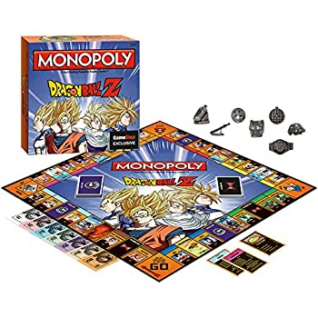 Amazoncom USAopoly Dragon Ball Z Edition Monopoly Board Game
