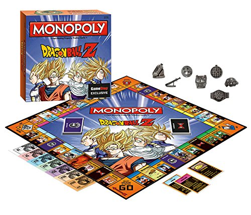 Monopoly: Dragon Ball Z Edition (Dragon Ball Z Board Game)