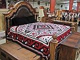 Reversible Fancy Navajo Design Southwest Bedspread King Throw - Best Reviews Guide