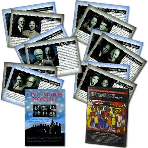 Civil Rights Pioneers - DVD and Postcard Set