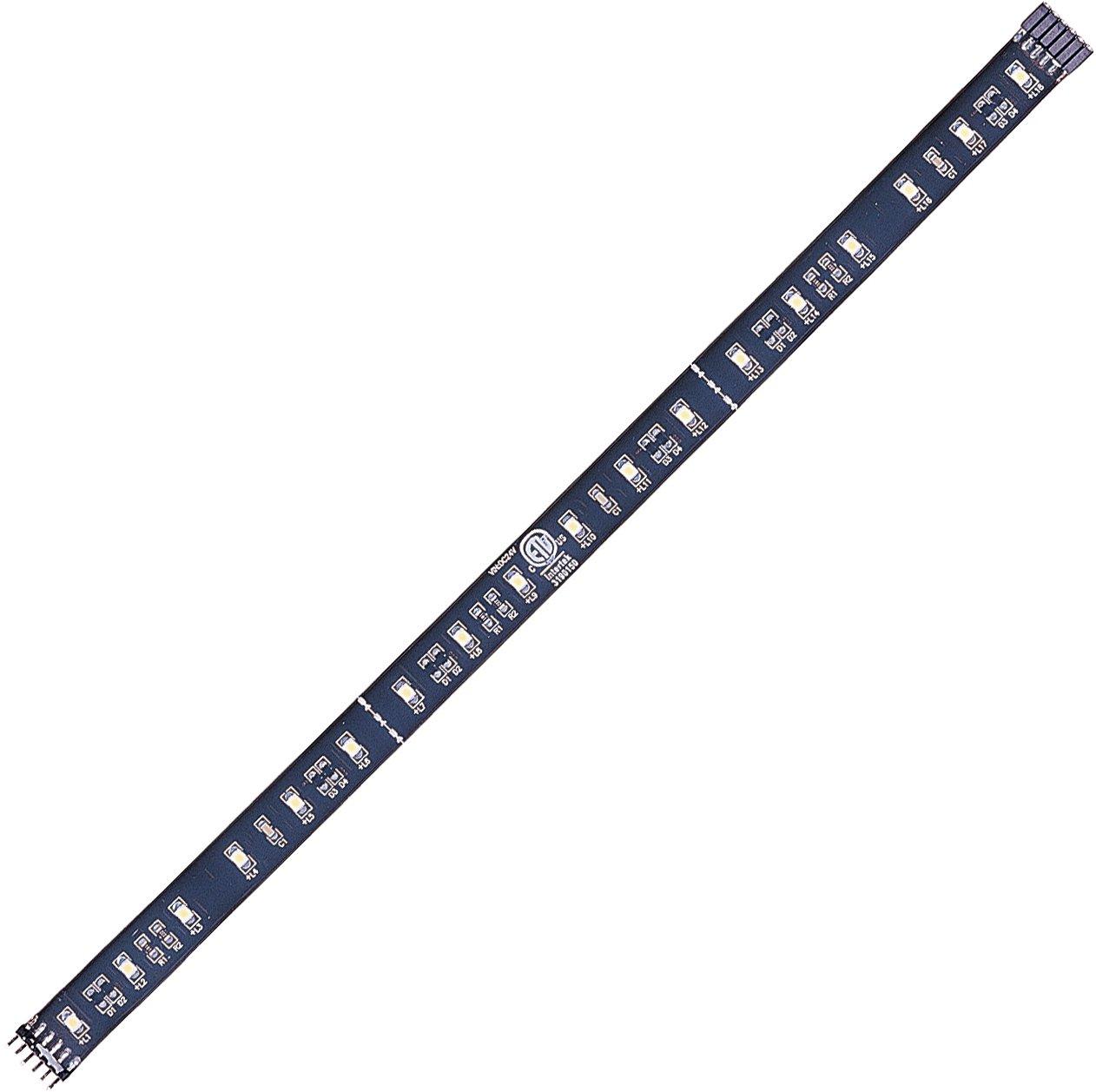 Maxim Lighting 53431 Eighteen Light Undercabinet Strip, Black