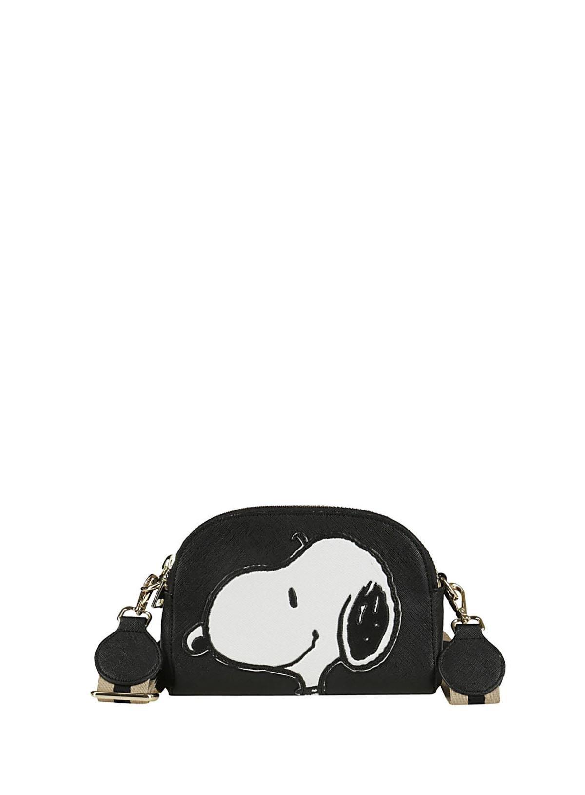 Essentiel Women's Polippibl19 Black Leather Beauty Case