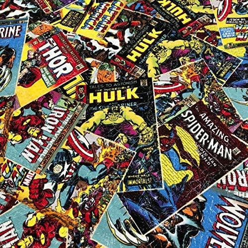 Tela de Patchwork - Marvel Comics - 100% algodón - Retal de 100 cm ...