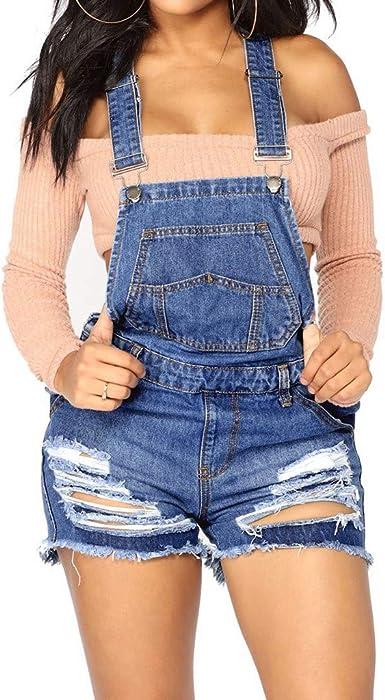 Levifun Pantalon Corto Para Mujer Pantalones Cortos Mujer Rotos Shorts Mujer Verano Elastico Overoles De Mezclilla Mujer Pantalones Cortos Mujer Vaqueros Cintura Alta Flecos Jeans Mujeres Amazon Es Ropa Y Accesorios