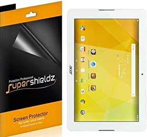 Supershieldz (3 Pack) for Acer Iconia One 10 B3-A20 Screen Protector, Anti Glare and Anti Fingerprint (Matte) Shield