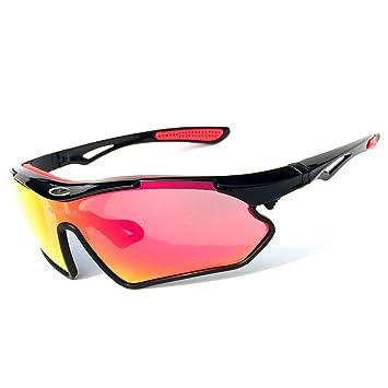 HCMAX Gafas de sol Deportivas Polarizadas Protección UV400 para Hombres Mujeres Ciclismo Equitación Corriendo Pescar Gafas de Golf: Amazon.es: Coche y moto