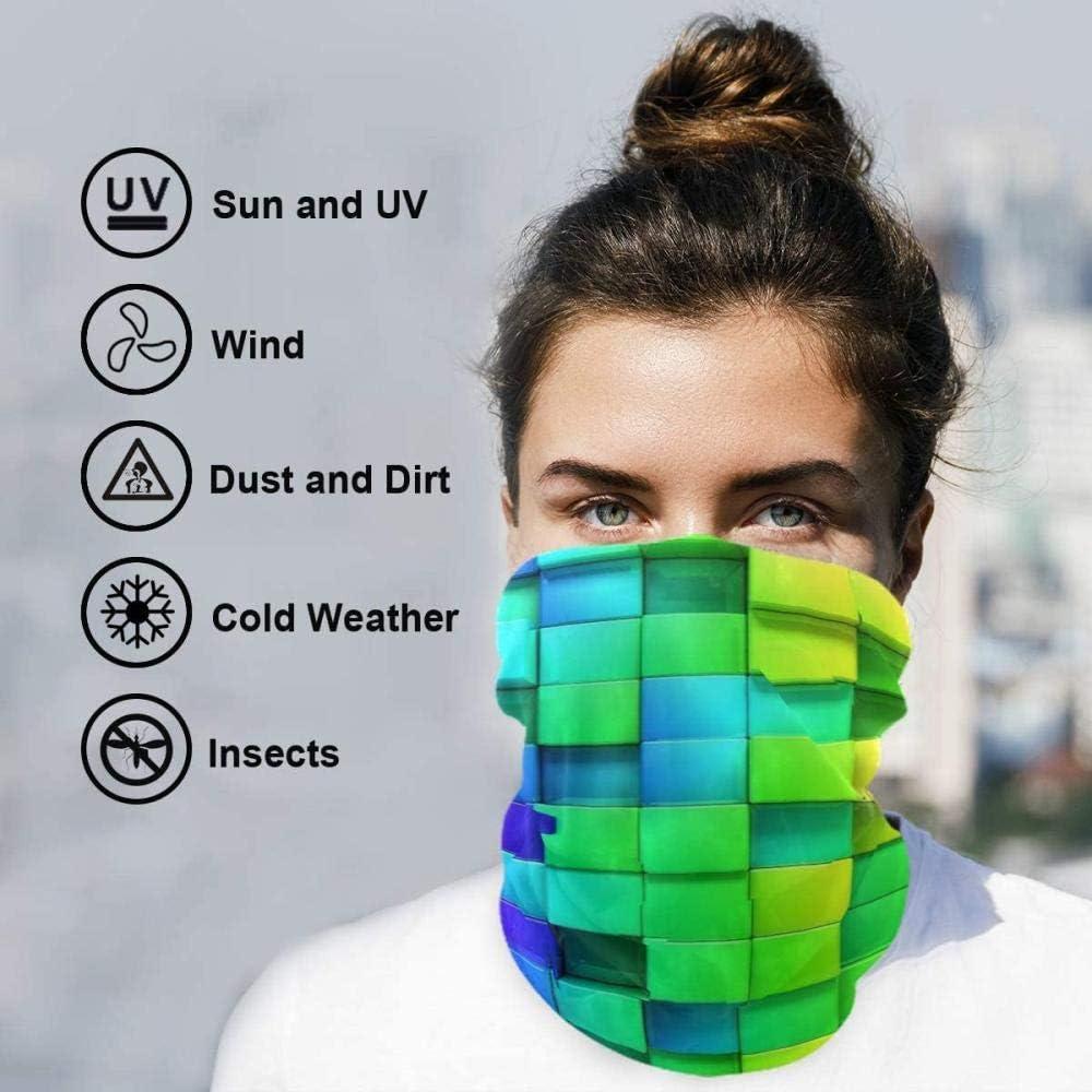 Bandana For Women 3D Galaxy Seamless Balaclava Half Headwear Neck Gaiter Bandanas Head Windproof Sport Scarf