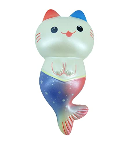 WOOW Squishy Slowing Rising - Blue Cat fish with good scent, 25+ seconds  Rising (New)