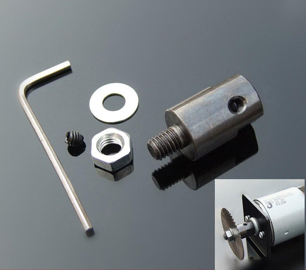 Winwill Adattatore del mandrino del sega del giunto della lamierina della lamierina dell'albero del motore di 5mm H544