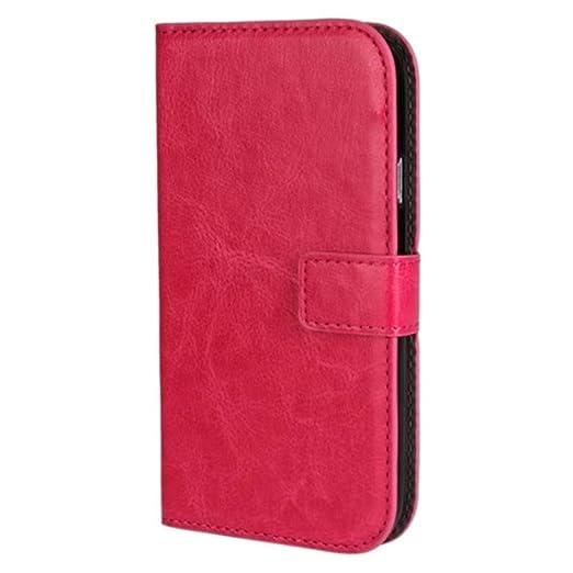 98 opinioni per HUANGTAOLI Custodia in pelle Flip Case Cover per Samsung I9060i Galaxy Grand Neo