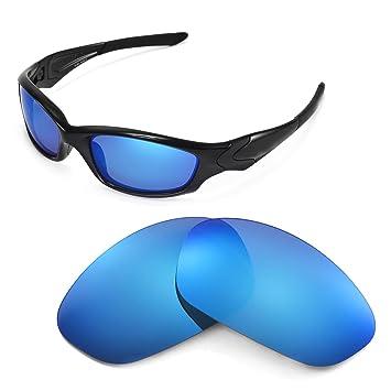 Walleva Wechselgläser Und Earsocks für Oakley X Squared Sonnenbrille - Mehrfache Optionen (Titan polarisierte Linsen + grauer Gummi) bvAdtexe