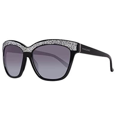 73dd4865c5 Guess By Marciano GM0729 C57 01B (shiny black   gradient smoke) Sunglasses