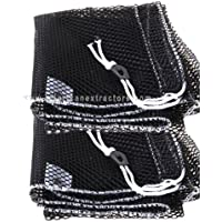 2 Mesh Drawstring Bags for Carpet Cleaning Hoses and More