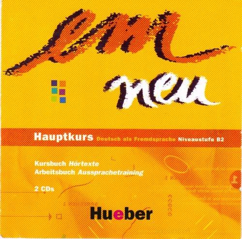 em neu Hauptkurs. 2 CDs . Deutsch als Fremdsprache. Niveaustufe B2. (Lernmaterialien)