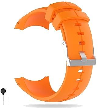 Ruentech Suunto Spartan - Correa de Silicona de Repuesto para Reloj Inteligente Suunto Spartan Ultra/