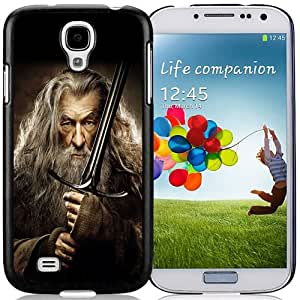 Beautiful Custom Designed Samsung Galaxy S4 I9500 i337 M919 i545 r970 l720 Phone Case For The Hobbit The Desolation of Smaug Gandalf Phone Case Cover