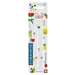 クラプロックス 歯ブラシ CS5460 POP-ARTエディション キャラクター柄 二本セット