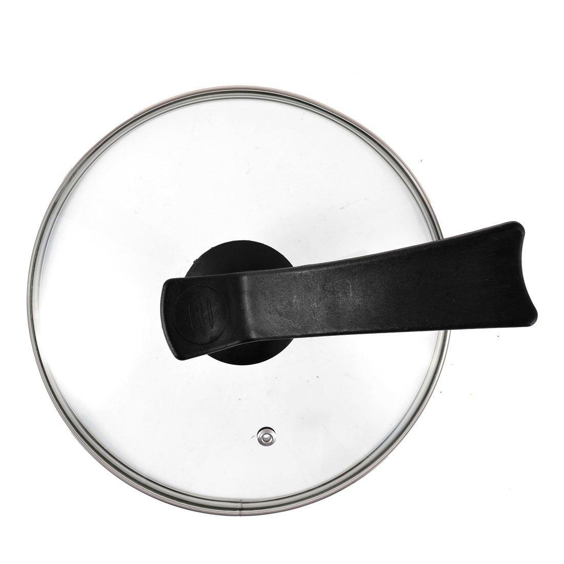 Amazon.com: eDealMax vidrio templado de cocina utensilios de cocina Olla de reemplazo Tapa 8.7 pulgadas Clear: Kitchen & Dining
