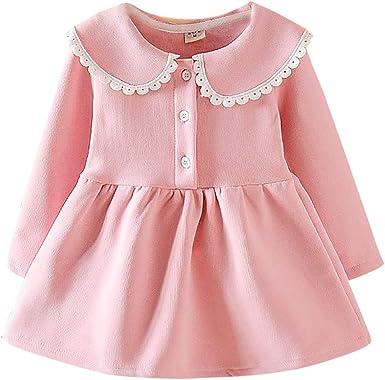 Baby Kids Girls Swan Striped Printed Dress Princess Sleeveless Pageant Sundress