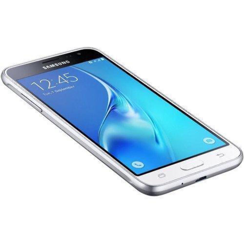 Samsung Galaxy J3 (2016) Duos SM-J320H/DS 8GB Dual SIM Unlocked GSM Smartphone - International Version, No Warranty (White) by Samsung (Image #3)