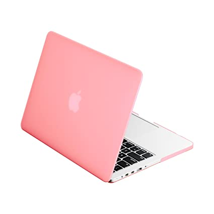 hot sale online a058d 9bec1 TOP CASE - Retina 13-Inch Rubberized Hard Case Cover for MacBook Pro 13.3