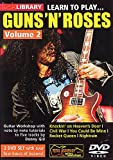 Learn To Play Guns And Roses Vol.2 [DVD]