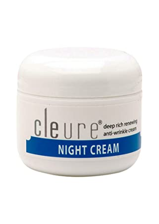Cleure Hypoallergenic Anti-Aging Night Cream for Sensitive Skin Fragrance – Gluten – Salicylate – Paraben Free 100 Pure Shea Butter – Alpha Lipoic Acid – Antioxidants 2 Oz