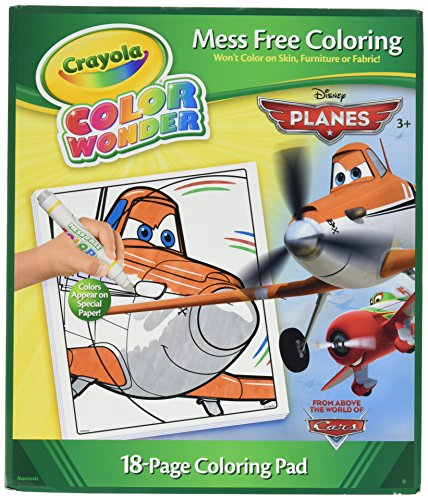 Crayola Color Wonder Mess Free Disney Planes Coloring Pad