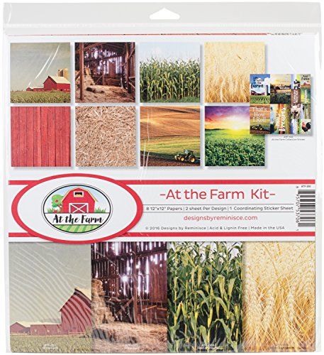 Reminisce at The at The Farm Scrapbook Collection Kit