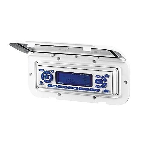 NuovaRade Nuova Rade - Carcasa para Radio y CD, 11,4 x 24,9 cm, Color Blanco