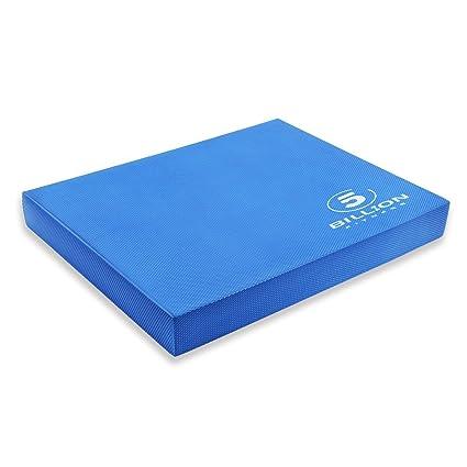 5BILLION Almohadilla de Equilibrio Balance Pad - Almohadilla de Ejercicios & Equilibradora de Espuma Trainer - Cojín Oscilante para Terapia Física