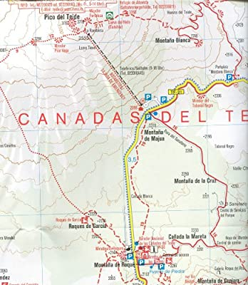 Tenerife 1 50k Carte De Randonnee Kompass N 233 Kompassmaps Livres Amazon Fr