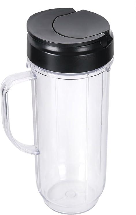 sduck handled vaso con tapa y tapa de repuesto para Magic Bullet ...