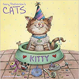 2018 gary patterson s cats wall calendar mead mead 9781682096741