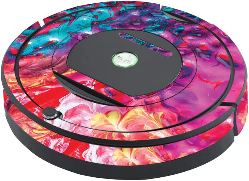 MightySkins Skin Compatible with iRobot Roomba 770 Robot Vacuum - Paint Party | Protective, Durable, and Unique Vinyl Decal wrap Cover | Easy to Apply, Remove, and Change Styles | Made in The USA