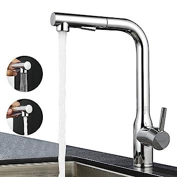Sehr ubeegol 360° Drehbar Wasserhahn Küche Armatur Küchenarmatur mit BS17