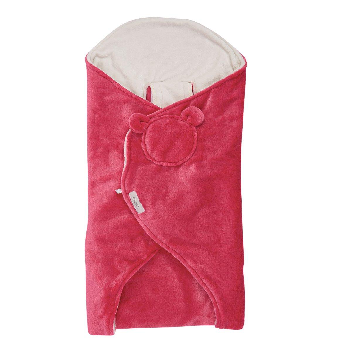 Noukies BB16012.16 Himbeere/Nougat Spaziergangsdecke, rosa
